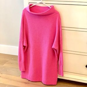 Free People Slouchy Ottoman Tunic Sweater